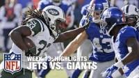 Jets vs Giants